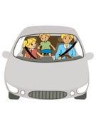 Family Car Stock Photos