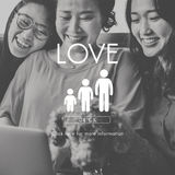 Family Care Genealogy Love Related Home Concept. Family Care Genealogy Love Related Home stock image