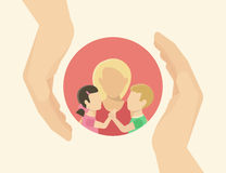 Family care Royalty Free Stock Photography