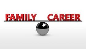 Family Career Balance Concept Stock Photos