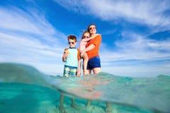 Family Caribbean vacation Royalty Free Stock Photo