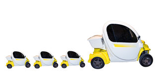 Family of cars royalty free stock photography