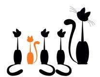 Family Cat Stock Photography