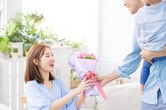 Happy mother day stock images