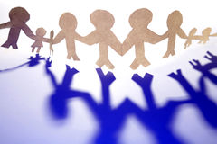Family Chain Stock Images