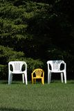 Family of chairs Royalty Free Stock Photos