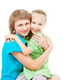 Family with children Royalty Free Stock Images