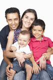 Family with childrens Stock Photo