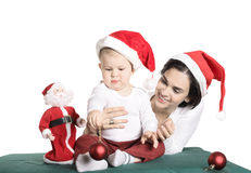 Family Christmas Royalty Free Stock Image