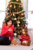 Family Christmas Royalty Free Stock Photo