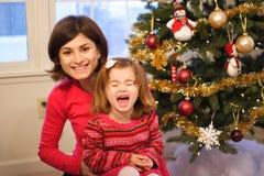 Family Christmas Stock Photography