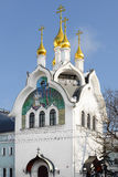 Family Church and Chapel in honour of Synaxis of Holy Trinity-Saint Seraphim-Diveyevo Monastery Stock Photo