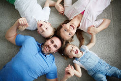 Family circle Royalty Free Stock Images