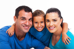 Family close up Royalty Free Stock Image