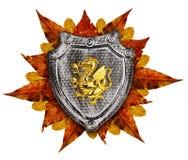 Family coat, shield emblem Stock Images