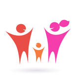 Family, Community and people icon Royalty Free Stock Photo