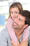 Family complicity stock photo