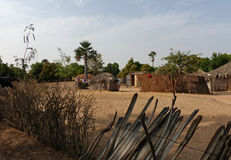 Family compound, Senegal Stock Images