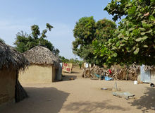 Family compound, Senegal Stock Image