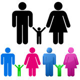 Family concept. Royalty Free Stock Images
