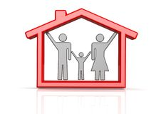 Family concept Stock Images