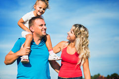 Family concept. Royalty Free Stock Photography