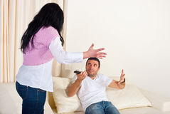Family conflict Royalty Free Stock Photos