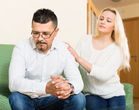 Family conflict at home Stock Image