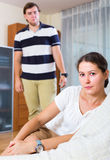 Family conflict at home Stock Photography
