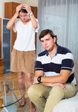 Family conflict at home Royalty Free Stock Image
