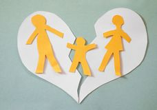 Family conflict stock photos