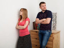 Family conflict, quarrel Royalty Free Stock Photos
