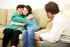 Family Conflict Resolution Royalty Free Stock Photography