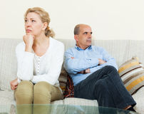 Family conflict Royalty Free Stock Photography