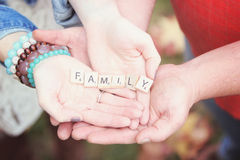 We are Family Stock Photography