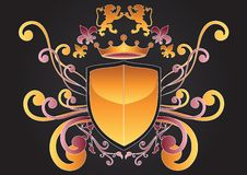 Family Crest Of Arms Royalty Free Stock Image