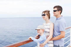 Family cruising Royalty Free Stock Photography