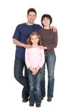 Family With Daughter Royalty Free Stock Photography