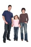 Family With Daughter Stock Photography