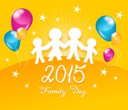 Family day Stock Images