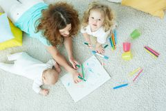 Family day-care Stock Photo