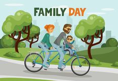Family Day. Royalty Free Stock Photography