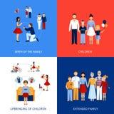 Family Design Concept Royalty Free Stock Photos