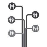 Family design Stock Image