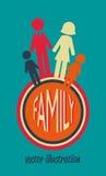 Family design Royalty Free Stock Image