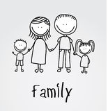 Family design Stock Photo