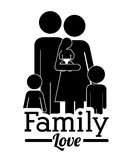 Family design Royalty Free Stock Images