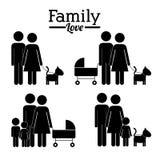 Family design Stock Photos