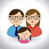 Family design Royalty Free Stock Photography
