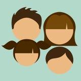 Family design Royalty Free Stock Photo